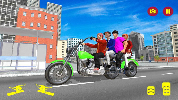 長型摩托車模擬器圖4