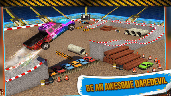 舞臺特技怪物卡車3D圖1