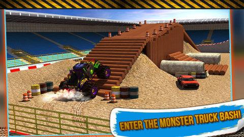 舞臺特技怪物卡車3D圖3