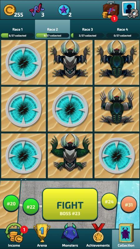 突袭怪兽英雄图1