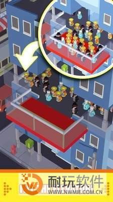 拥挤电梯图3